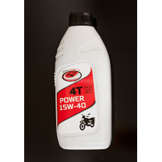 5.Масло моторное POWER 4T MOTO 15W-40 API SG