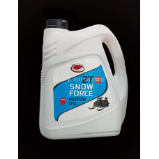 4.Масло моторное SNOW FORCE 2T