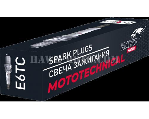 Cвеча зажигания HAWK MOTO E6TC