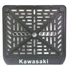 Мото Рамка для  номера Казахстан Kawasaki